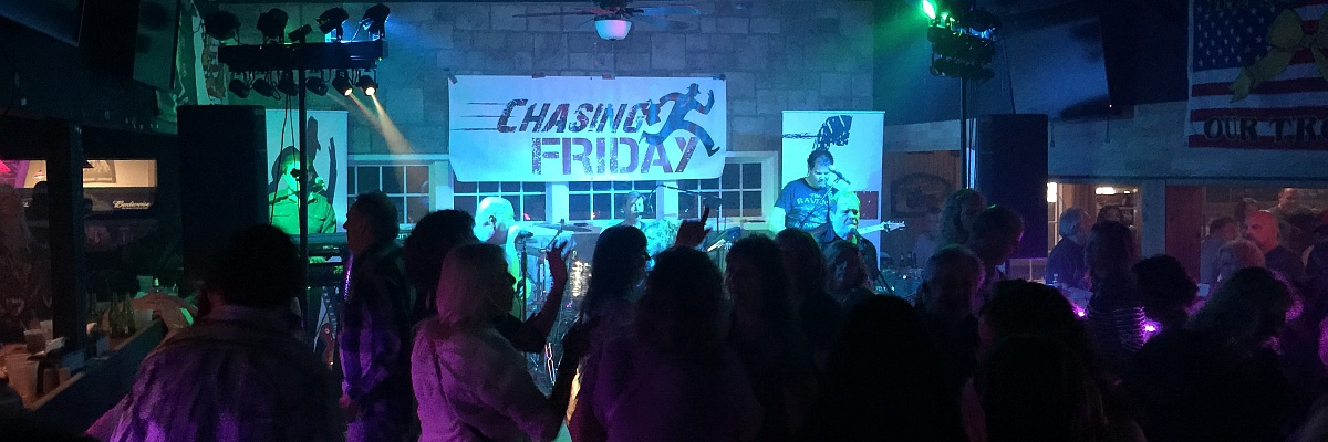 Chasing Friday band live